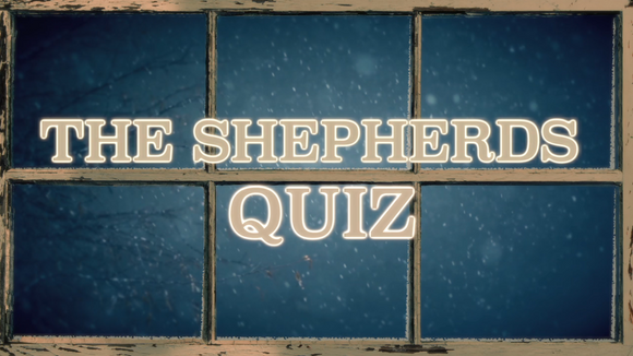 The Christmas Story Bible Quiz Video [The Shepherds]
