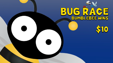 Bug Race [Bumblebee Wins] Racing Game Video
