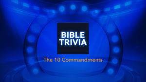 The 10 Commandments Bible Trivia Game