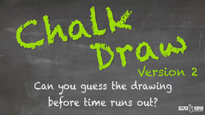 Chalk Draw [Version 2] On Screen Game