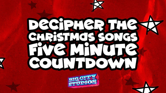 Decipher the Christmas Songs 5 Minute Countdown [Version 2]
