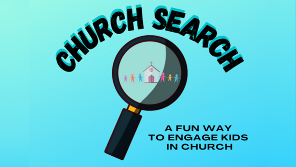 Church Search for Kids Activity Sheets