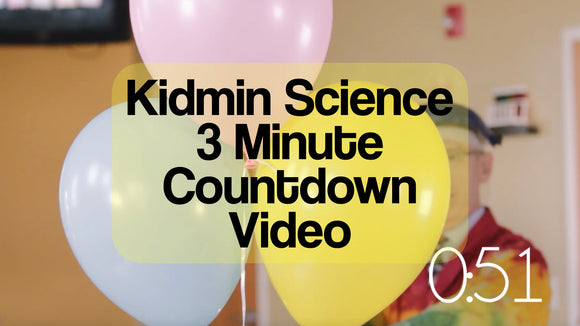 Kidmin Science 3 Minute Countdown Video [Balloons Version]