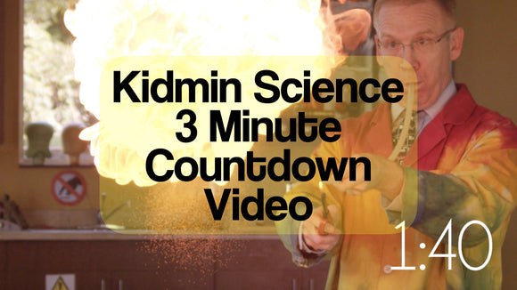 Kidmin Science 3 Minute Countdown Video [Fire Version]
