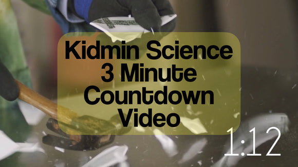 Kidmin Science 3 Minute Countdown Video [Breaking Stuff Version]