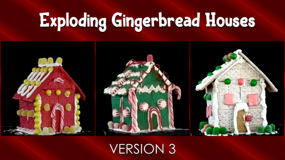 Exploding Gingerbread Houses [Version 3] Crowd Breaker Game