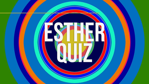 Esther Bible Quiz Video