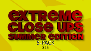 Extreme Close Ups [Summer Edition] On Screen Game - 5 Pack