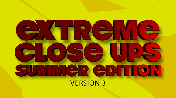 Extreme Close Ups [Summer Edition] On Screen Game - Version 3
