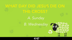 Easter Trivia Countdown Video