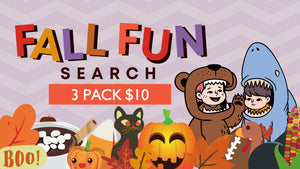 Fall Fun Search [3 Pack] Crowd Breaker Game