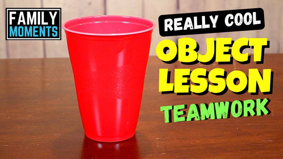 Really Cool Object Lesson about Teamwork Video