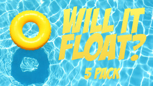Will It Float [5 Pack] Crowd Breaker Game