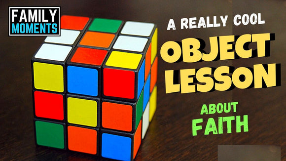Really Cool Object Lesson about Faith Video