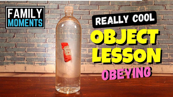 Really Cool Object Lesson about Obeying Video