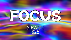 Focus [5 Pack] Crowd Breaker Game