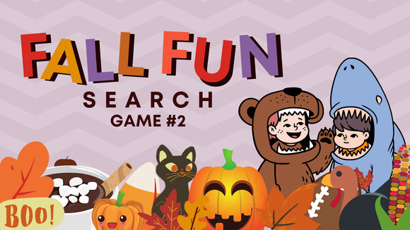Fall Fun Search [Game 2] Crowd Breaker Game