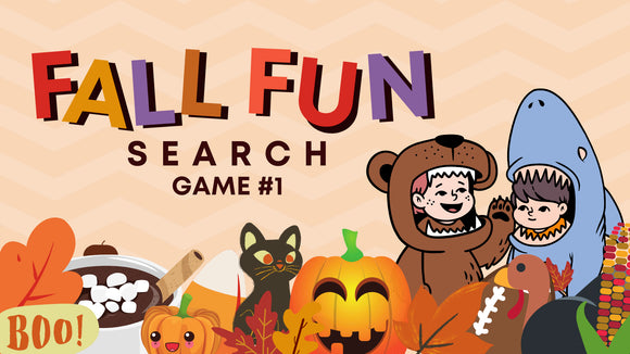 Fall Fun Search [Game 1] Crowd Breaker Game