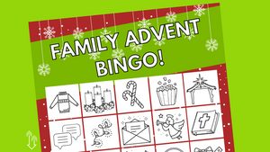 Family Advent Bingo
