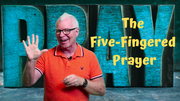Mighty Minutes: Five Finger Prayer Interactive Lesson Video