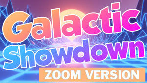 Galactic Showdown [ZOOM Version] On Screen Game