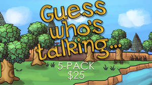 Guess Who's Talking [5 Pack] On Screen Game