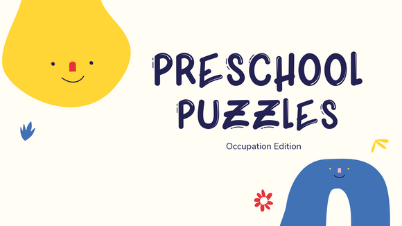 Preschool Puzzles [Occupation Edition] On Screen Game