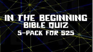 In the Beginning [5-Pack] Bible Quiz Video