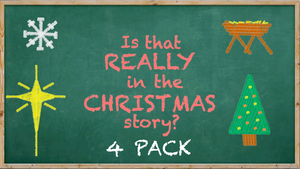Is That Really in the Christmas Story? [4 Pack] Crowd Breaker Game