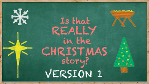 Is That Really in the Christmas Story? [Version 1] Crowd Breaker Game
