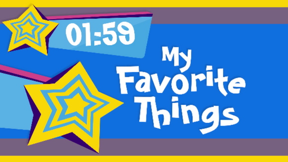 Interactive Countdown Video [My Favorite Things Edition]