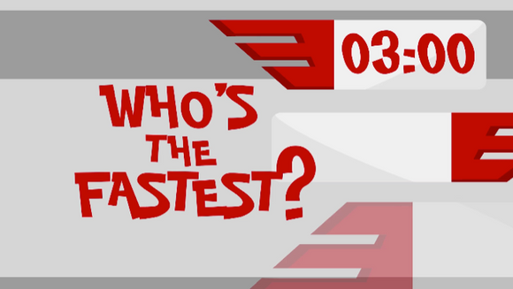 Interactive Countdown Video [Who's the Fastest? Edition]