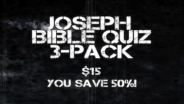 Joseph 3-Pack Bible Quiz