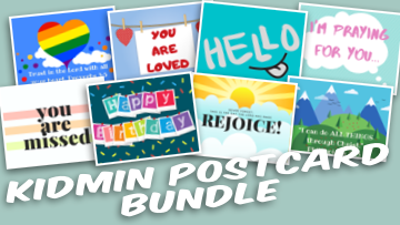 Kidmin Postcard Bundle