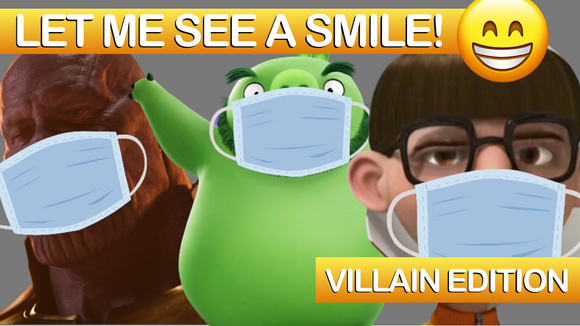 Let Me See a Smile [Villain Edition] On Screen Game