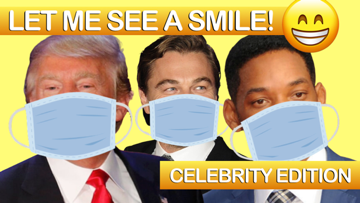 Let Me See A Smile [Celebrity Edition] On Screen Game