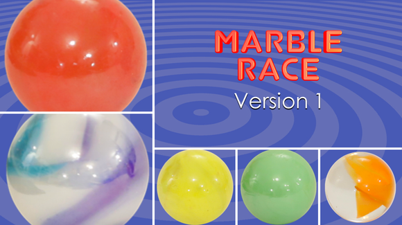 Marble Race [Version 1] Racing Game Video