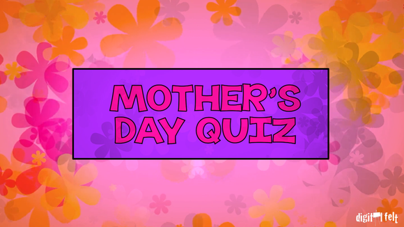 Mother's Day Quiz On Screen Game