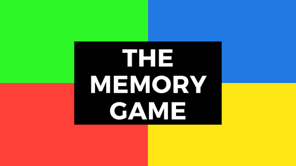 The Memory Game On Screen Game