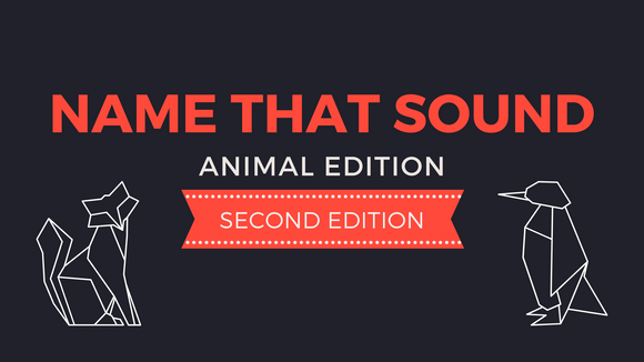 Name That Sound [Animal Edition 2] Crowd Breaker Video