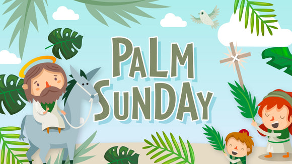Palm Sunday Title Graphics