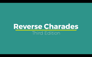 Reverse Charades [Third Edition] On Screen Game