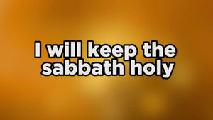 Keep the Sabbath Worship Video