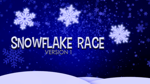 Snowflake Race [Version 1] Crowd Breaker Game