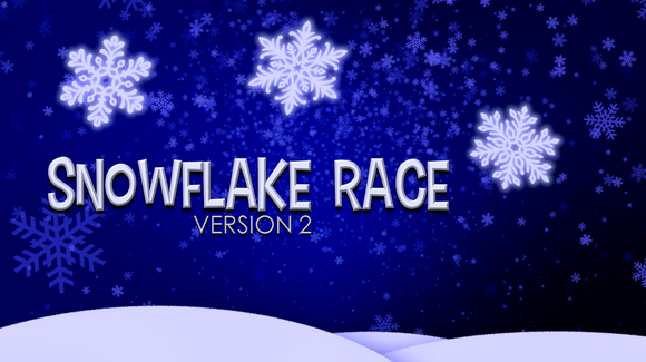 Snowflake Race [Version 2] Crowd Breaker Game