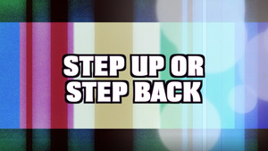 Step Up or Step Back [Version 1] Crowd Breaker Game