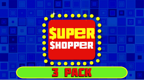 Super Shopper Christmas Edition [3 Pack] Crowd Breaker Game