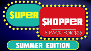 Super Shopper Summer Edition [5 Pack] Crowd Breaker Game