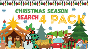 Christmas Season Search [4 Pack] Crowd Breaker Game
