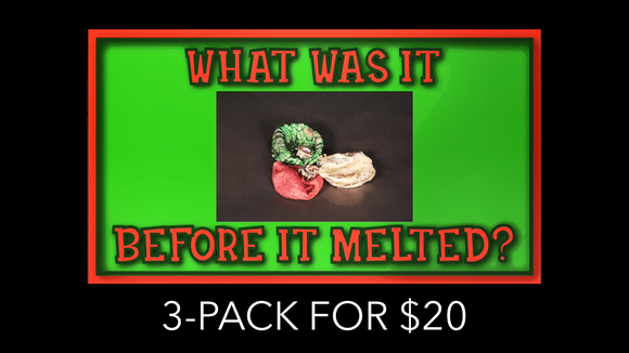 What Was It Before It Melted? [3 Pack] Crowd Breaker Game